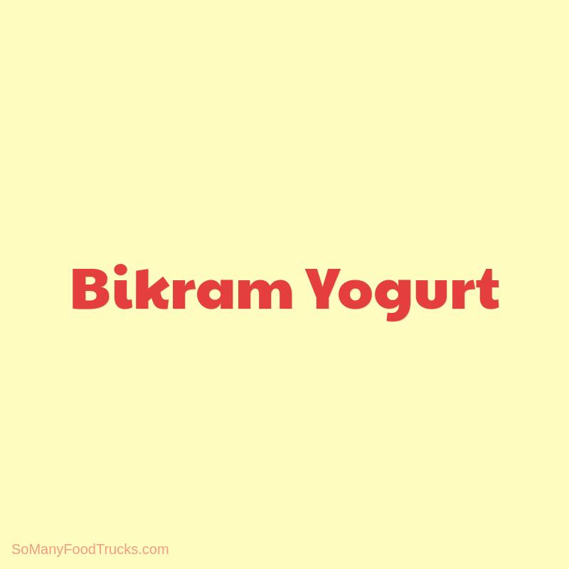 Bikram Yogurt