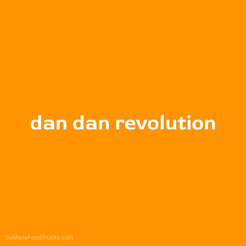 Dan Dan Revolution