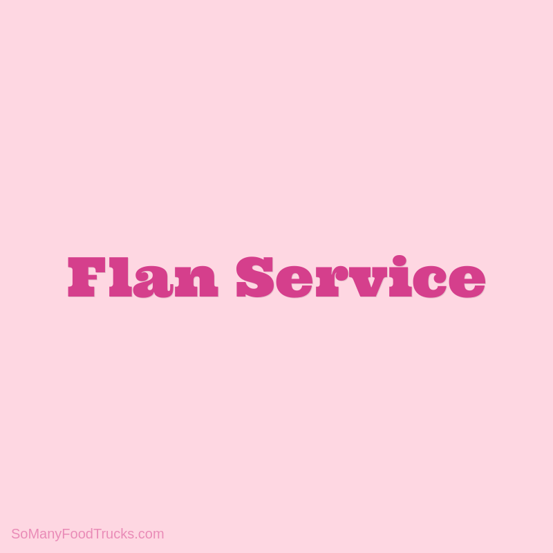 Flan Service