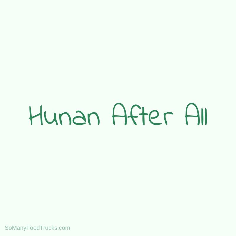 Hunan After All