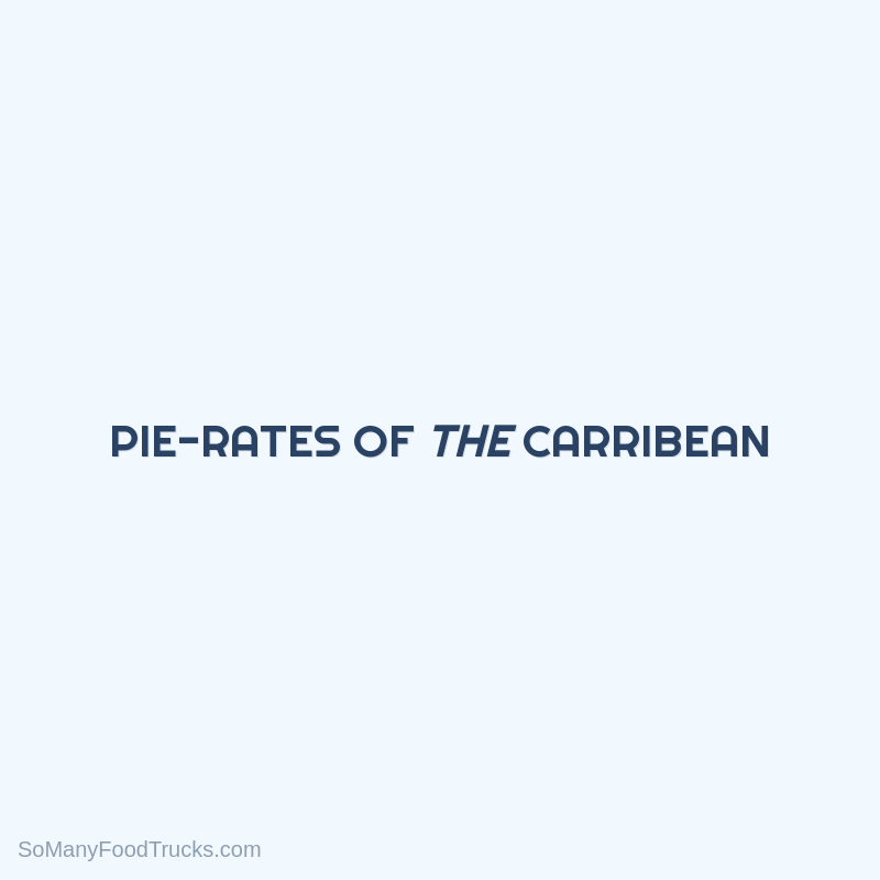 Pie-rates Of The Carribean