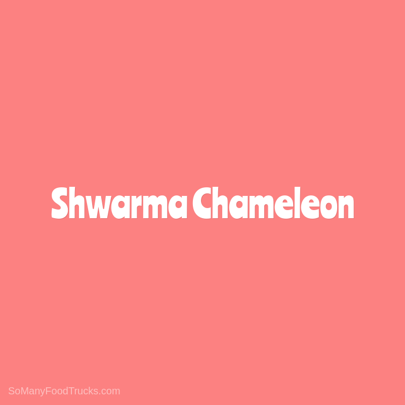Shwarma Chameleon