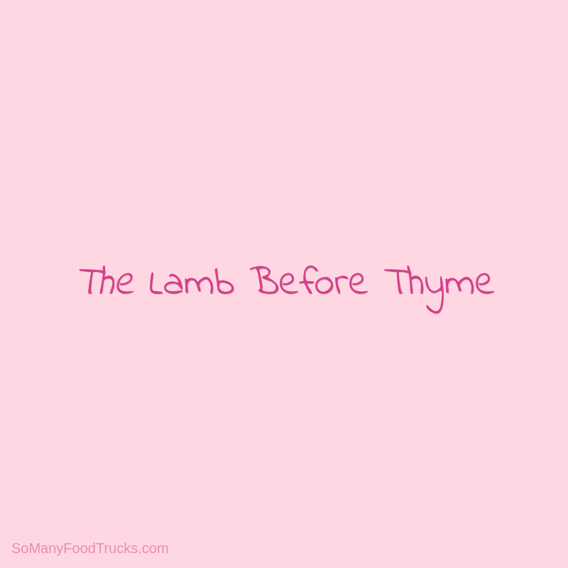 The Lamb Before Thyme