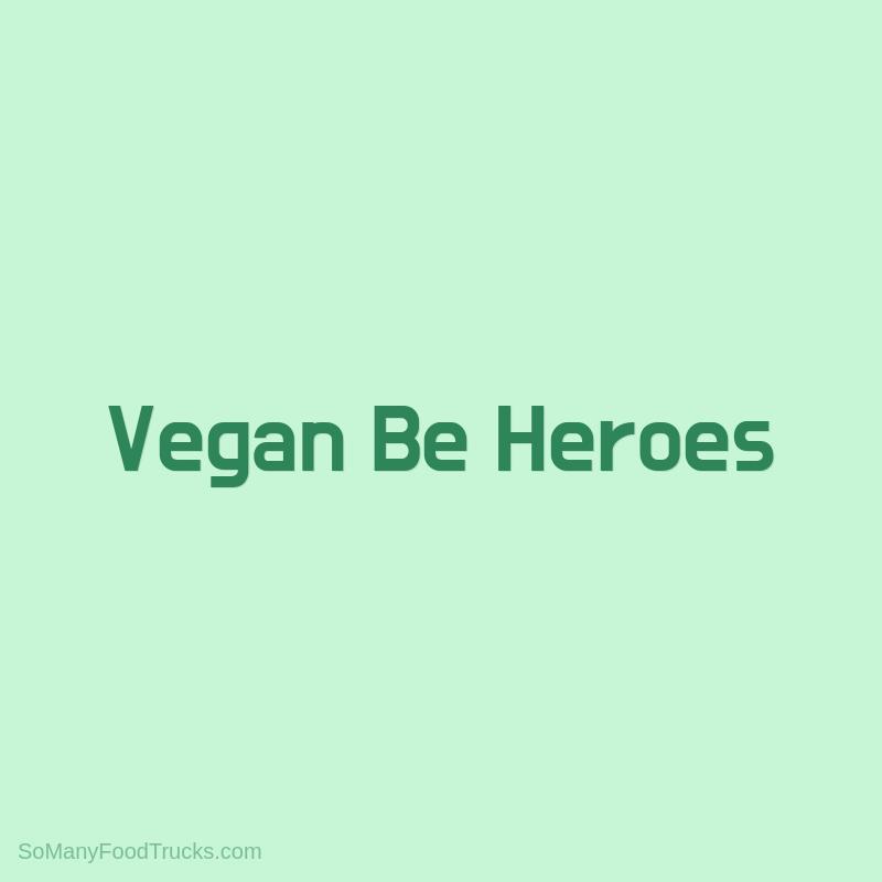 Vegan Be Heroes
