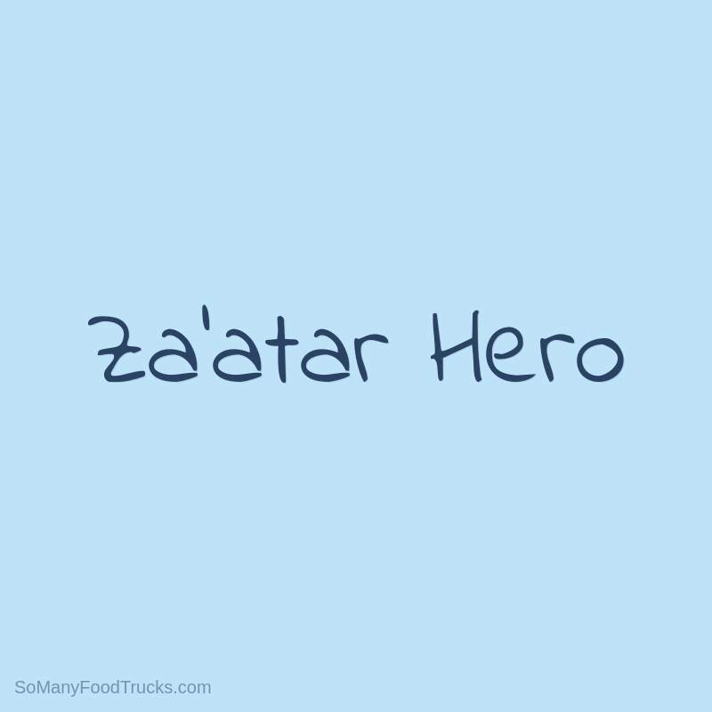 Za'atar Hero